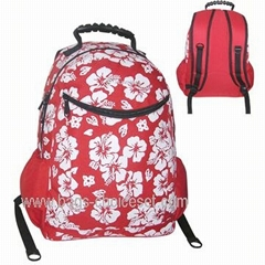 Backpack with Soft Shoulder Straps and Mesh Side Pocket