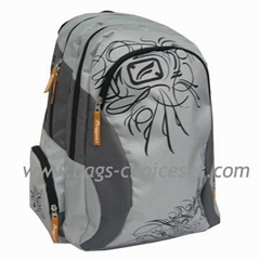 Backpack with Fancy Printing