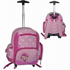 Micro Fiber School Trolley Bag
