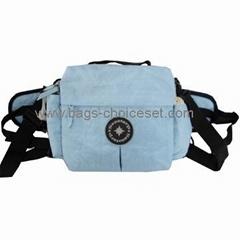 Washer Wrinkle Fabric Waist Bag