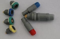 塑料推拉自锁连接器