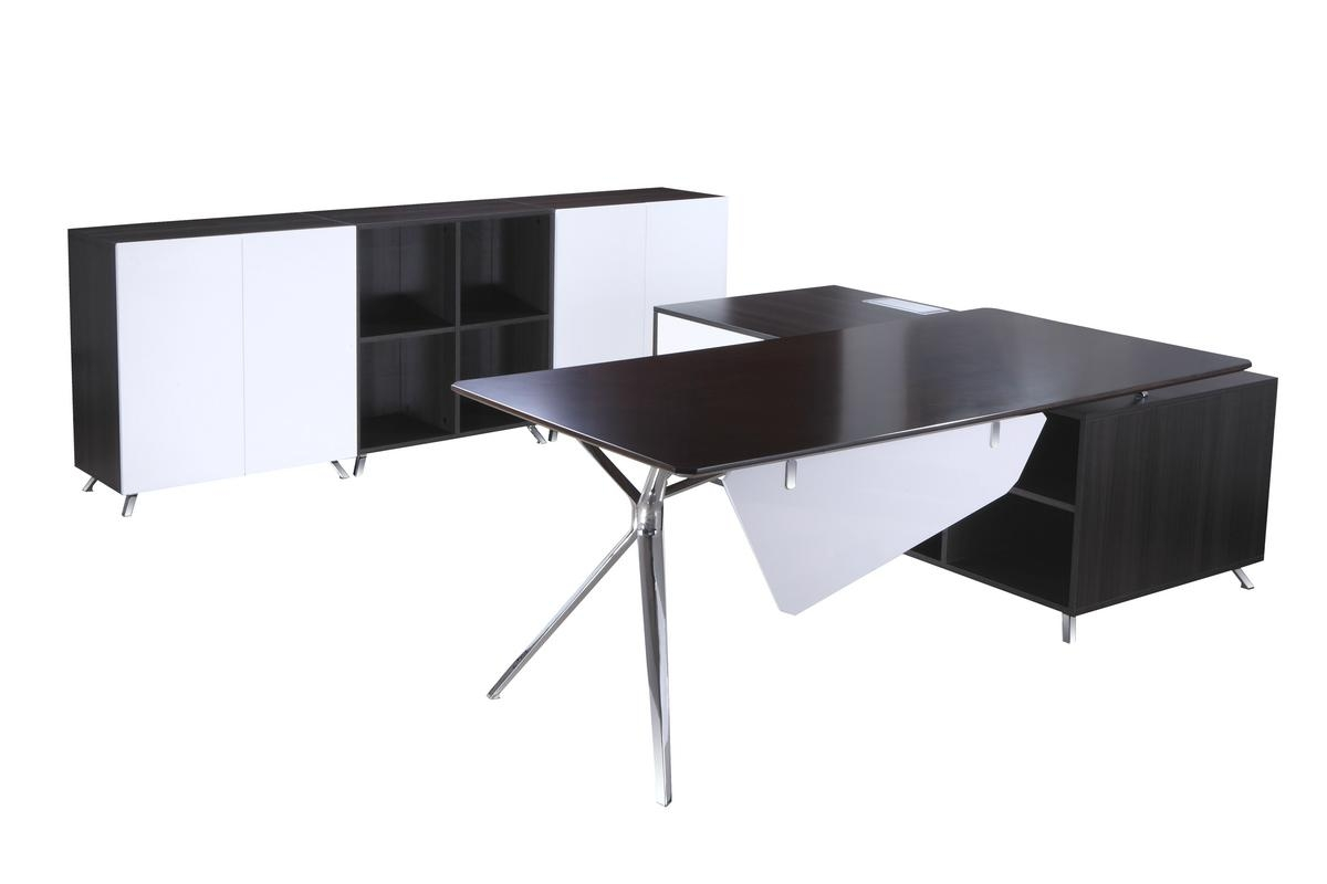 Desk with Side Cabinet 3