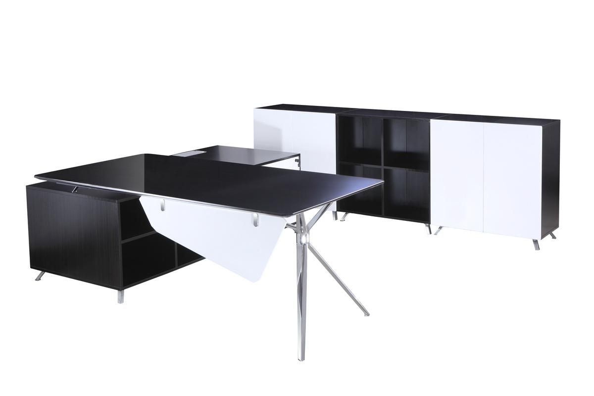 Desk with Side Cabinet 4