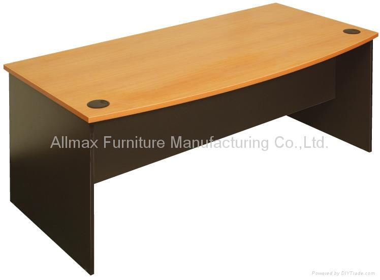 Bow Front Office Desk China Manufacturer Australian Range