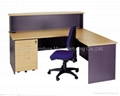 Bow Front Office Desk