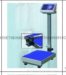 云南TCS-100kg折叠式电子台秤 1