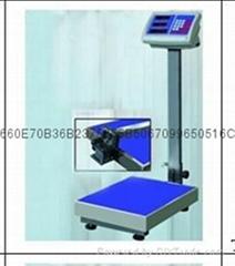 雲南TCS-100kg折疊式電子台秤