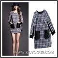 New Fashion Women Dress Winter Wool
