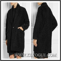 Designer Women Fashion Winter Wool Wrap Coat