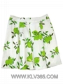 New Summer Wear Ladies Fashion Flower Flared Skirt