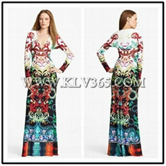 Latest Fashion Dress Designs Wholesale Long Prom Dress For Women