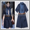 Ladies Fashion Design Denim Jeans Dress For Women Wholesale