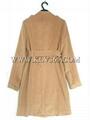 Wholesale Designer Women Fashion Trendy Winter Wool  Long Coat