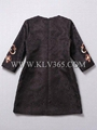 Designer Women Fashion Winter Embroidered Casual Dress Wholesale