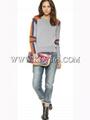 Hot Sale Women Fashion Designer Wool Cashmere Sweater From China