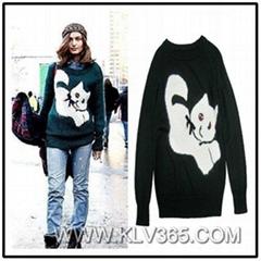 Ladies Fashion Wool Chri