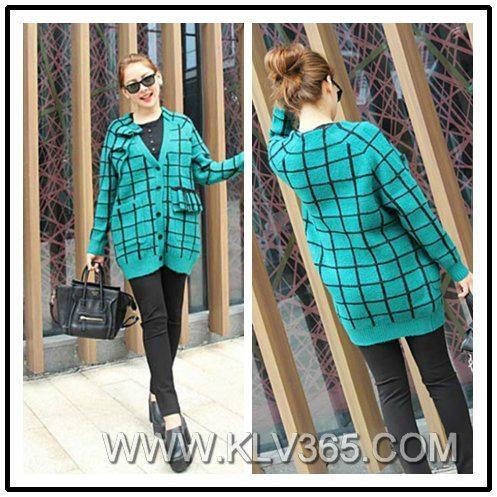Designer Women Fashion Wool Cashmere Sweater Cardigan 1