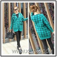Designer Women Fashion Wool Cashmere Sweater Cardigan