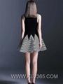 New Designer Women Clothes Fashion Summer Sleeveless Dress Wholesale