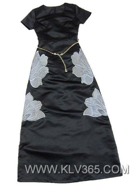 Wholesale Desinger Clothing Women Elegant Party Prom Dress 3
