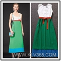 Women Clothing Fashion Summer Colorblock