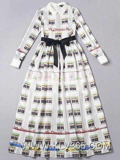 Designer Women Clothing Full Length Dress Printed Long Party Prom Dress 3