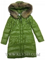China Wholesale Fashion Design Women Winter Down Jacket With Fur Collar 5