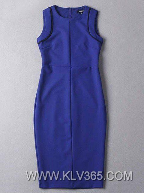 New Fashion Dress Design Women Slim Fitted Bodycon Party Dress Wholesale 5