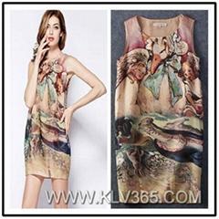 New Design Women Casual Sleeveless Summer Dress China Wholesale