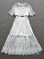 Latest Dress Design Women Fashion Lace Party dress  4