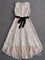Latest Fashion Dress Design Wholesale Women Long Lace Prom Dress