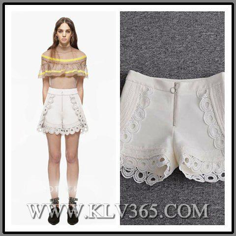 Designer Clothing Ladies Fashion Spring Summer High Waist Short Pants 1