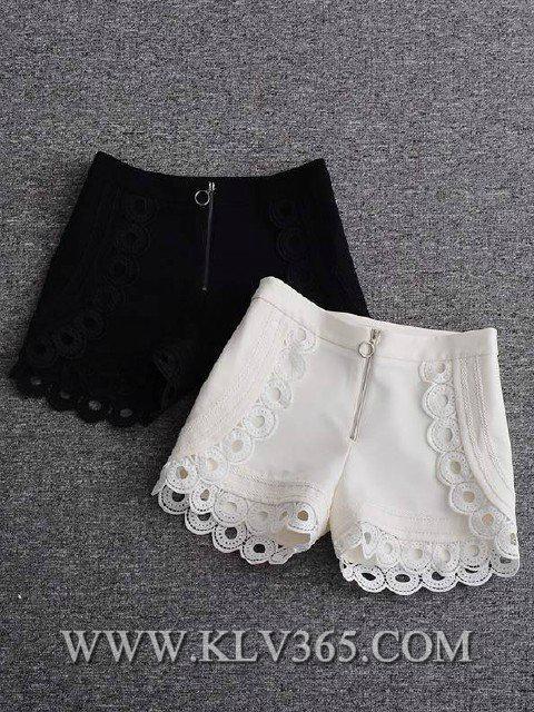 Designer Clothing Ladies Fashion Spring Summer High Waist Short Pants 2