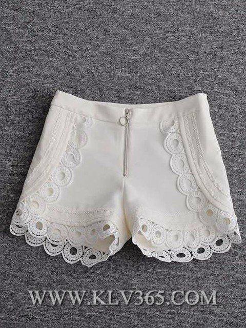 Designer Clothing Ladies Fashion Spring Summer High Waist Short Pants 3