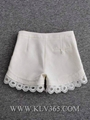 Designer Clothing Ladies Fashion Spring Summer High Waist Short Pants 4