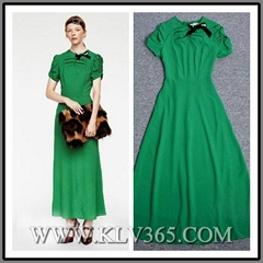 Wholesale Designer Clothes Women Long Casual Dress