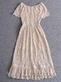 Elegant Women Fashion  Lace Long Mermaid Prom Dress China Wholesale