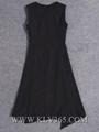 High Quality Fashion Clothing Designer Women Sleeveless Long Party Dress
