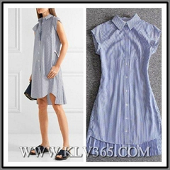 Designer clothing China Wholesale Women Fashion Shirt Dress