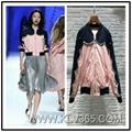 New Design Spring Autumn Women Fashion Stand Collar Baseball Bomber Jacket