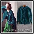 Designer Women Fashion Winter Knitted Wool Cashmere Sweater Cardigan Outerwear  1