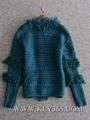 Designer Women Fashion Winter Knitted Wool Cashmere Sweater Cardigan Outerwear  3