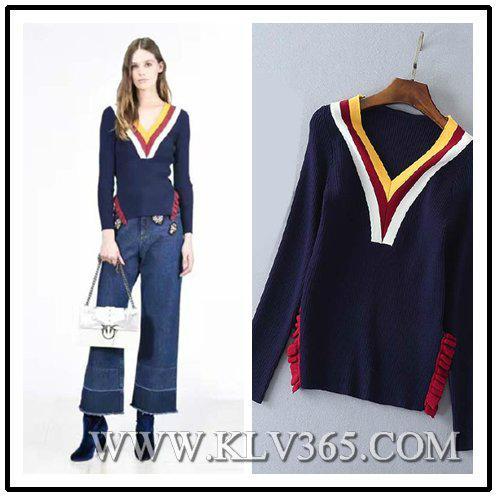 Ladies Fashion Winter Wool Christmas Top Sweater Whloesale 1