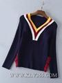 Ladies Fashion Winter Wool Christmas Top Sweater Whloesale 3
