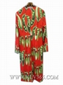 Designer Women Fashion Red Printed Long Celebrity Party Dress China Online 3