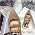 New  Fashion Designer Women Lace Up Casual Flat Shoes 5