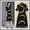 European Fashion Design Elegant Ladies Long Maxi Dress