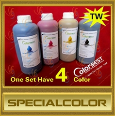 Eco Solvent Ink in bottle