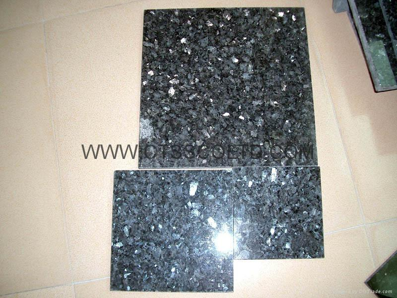 Blue Pearl Granite tile 60x60x2cm 1