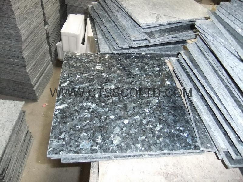 Blue Pearl Granite tile 60x60x2cm 3